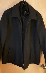 Dockers Winter Jacket - Mens Size Large - Black